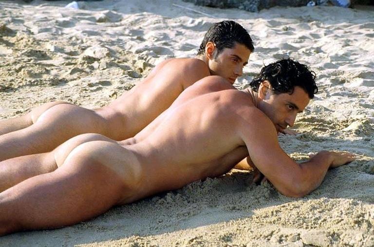 Male Beach Bums
